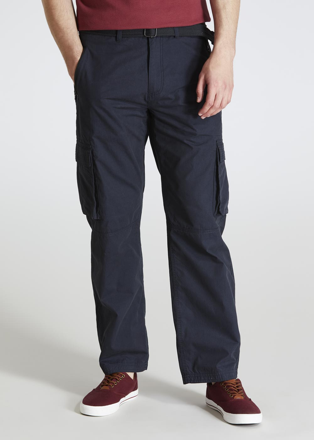 d398ca3b This review is from Straight Fit Belted Cargo Trousers.