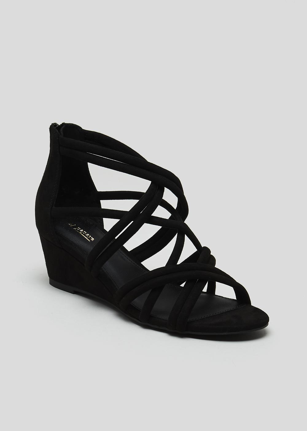 f181950d284 This review is from Multi Strap Caged Wedge Sandals.